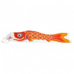 Riesen Wind Koi - Koinobori Orange