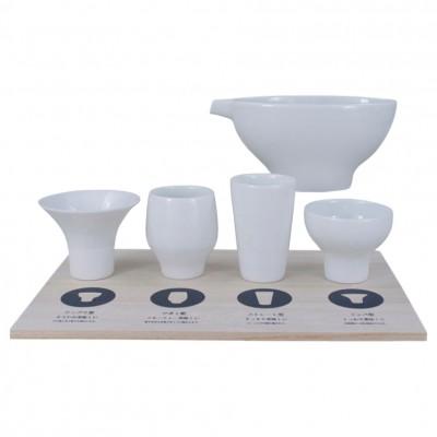Sake-Set für 4