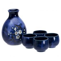 Sake-Set - Sakura Blau