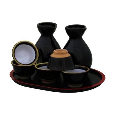 Sake Set - Tenmoku