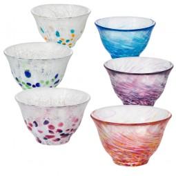 Sakebecher aus Glas