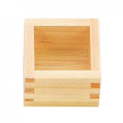 Sakebecher aus Holz