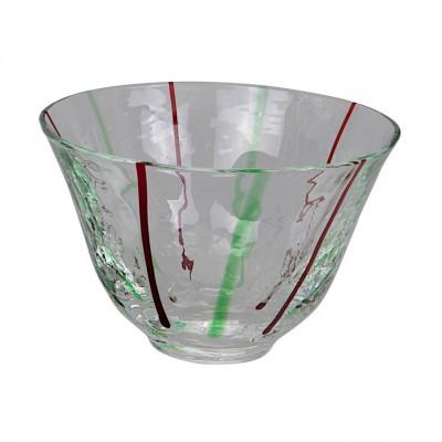 Sakebecher Glas Grün 90ml