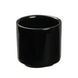 Sakebecher 'Schwarze Serie' flach