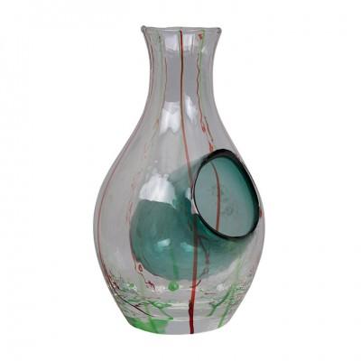Sakeflasche Glas Grün 300ml