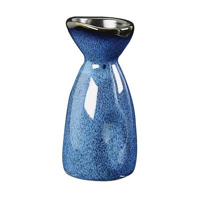 Sakeflasche 'Kobaltblau' 15cl