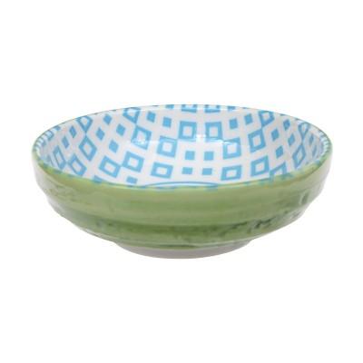 Schale 9,5 cm 'Kidowaku - Kanoko' hellblau