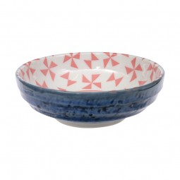 Schale 9,5 cm 'Kidowaku - Origami' pink