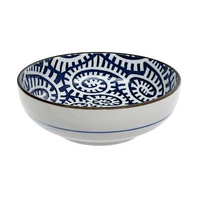 Schale - Karakusa Blau 12,5cm