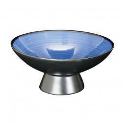 Schale 'Kobaltblau' mit Fuß 21x9,7cm