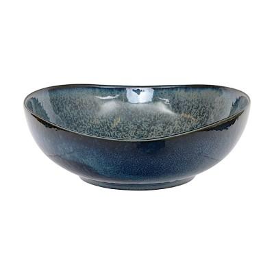 Schale oval 'Kobaltblau' 11x10,8x4cm