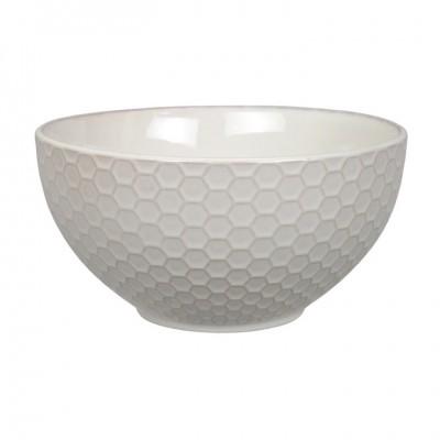 Schale 'Struktur - Kikko - weiß' 15,5cm