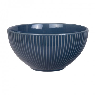 Schale 'Struktur - Shimagara - indigo' 15,5cm
