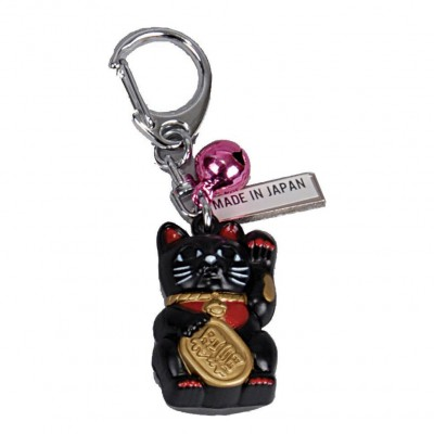 Schlüsselanhänger 'Maneki-neko'