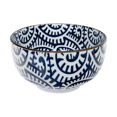 Schüssel - Karakusa Blau 12,8cm
