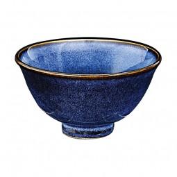 Schüssel 'Kobaltblau' mit Fuß