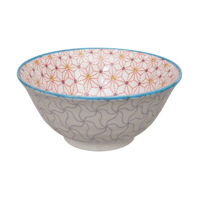 Schüssel - Sashiko Asanoha lila