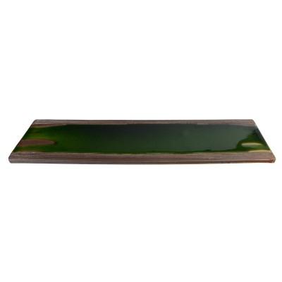 Servierplatte 48x17x3,9cm flach