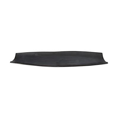 Servierplatte lang 'Tajimi' schwarz