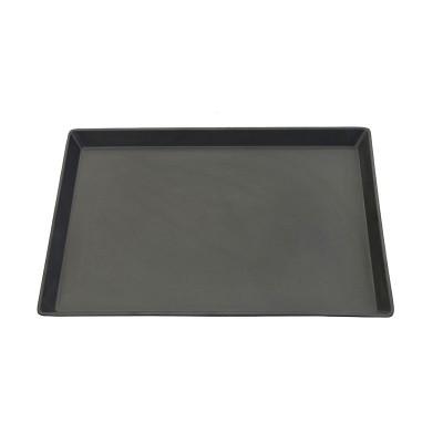 Servierplatte rechteckig aus Melamin 'Schwarz'