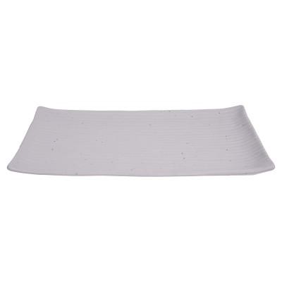 Servierplatte rechteckig