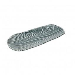 Servierplatte 'Wellen'