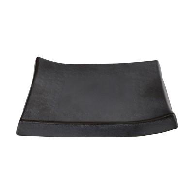 Servierteller rechteckig 'Tajimi' schwarz