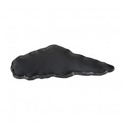 Servierteller Wolkenform 'Tajimi' schwarz