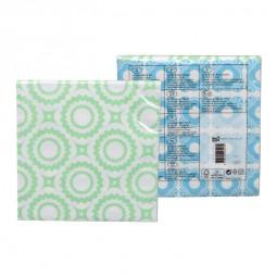 Servietten 33x33cm Nanairo blau/grün