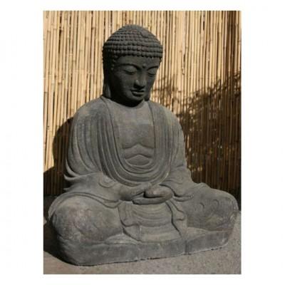 Sitzender Buddha im japanischen Stil