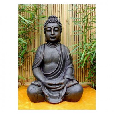 Sitzender Buddha, Kunstharz
