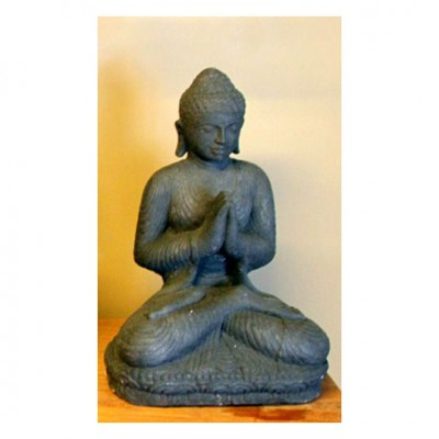 Sitzender Buddha, Lavaguss