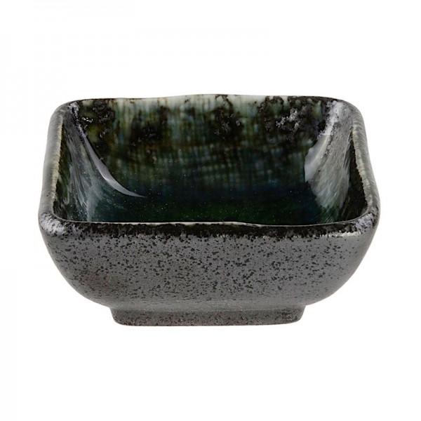 so enschale 39 choku yuzu schwarz blau 39 sojasaucen schalen k nnchen japanische k che japanwelt. Black Bedroom Furniture Sets. Home Design Ideas