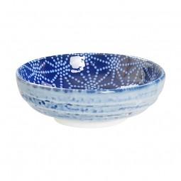 Soßenschale 'Japan Blau – Asanoha'
