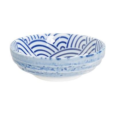Soßenschale 'Japan Blau – Seigaiha'