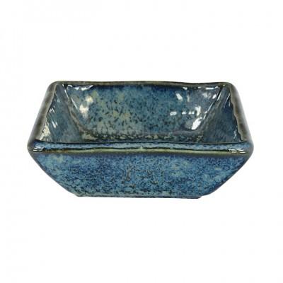 Soßenschale 'Kobaltblau' 8,8x8,8x3cm quadratisch