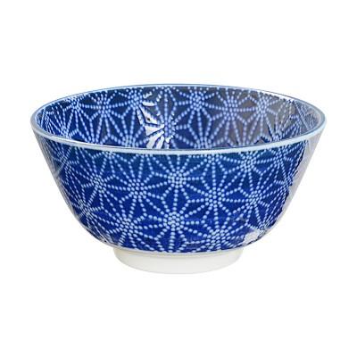 Speiseschale 'Japan Blau – Asanoha'
