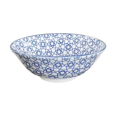 Speiseschale 'Japan Blau – Kagome Hana'