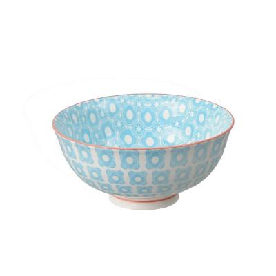 Speiseschale 'Nanairo – Hakkakushokko blau'