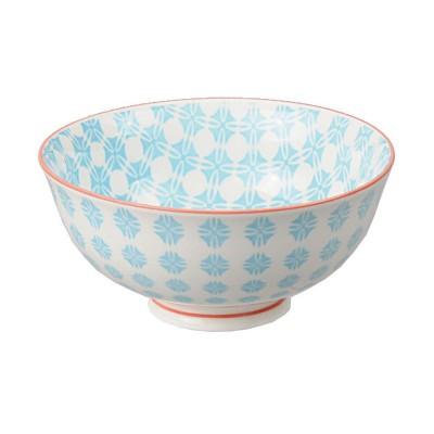 Speiseschale 'Nanairo – Shippotsunagi blau'