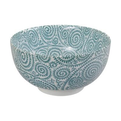 Speiseschale 'Karakusa Shida – Grün' 16x8,5cm