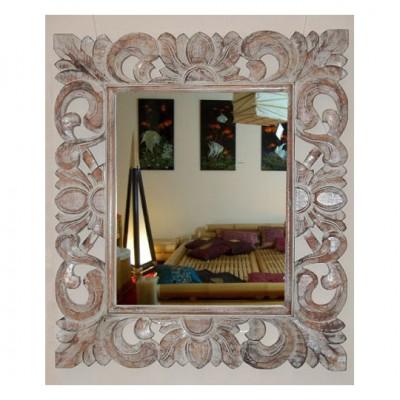 Spiegel mit Holzrahmen Ornamente
