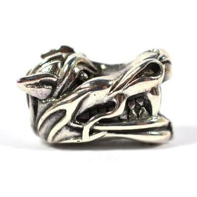 Spiritbeads - Glücksdrache Silber