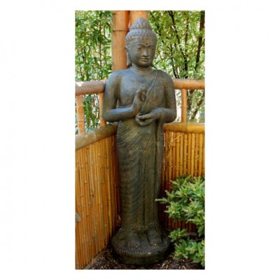 Stehender Buddha, Lavaguss