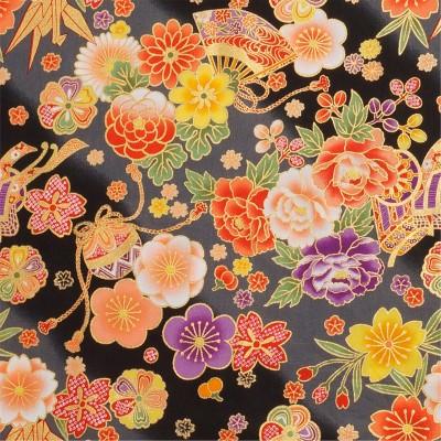 Japanstoff Blumenspiel
