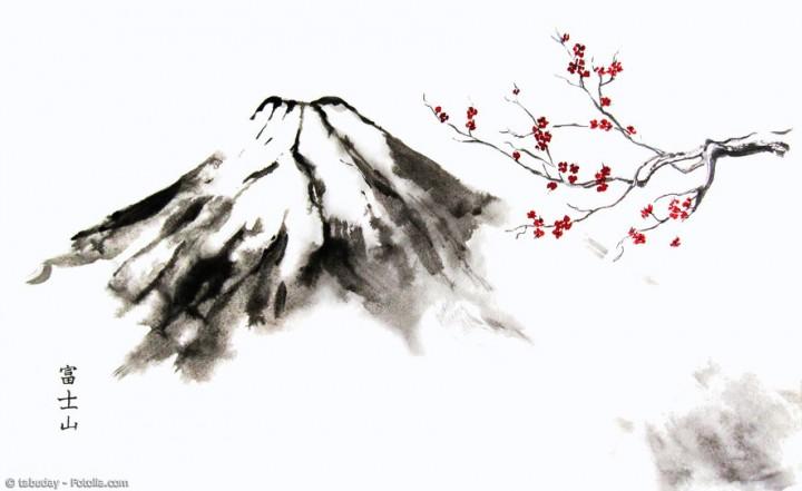 Faszinierende Bilder mit Tusche gemalt: Das ist Sumi-E