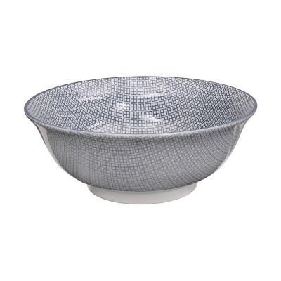 Suppenschüssel - Japan Grau - Tagedabishi 21cm