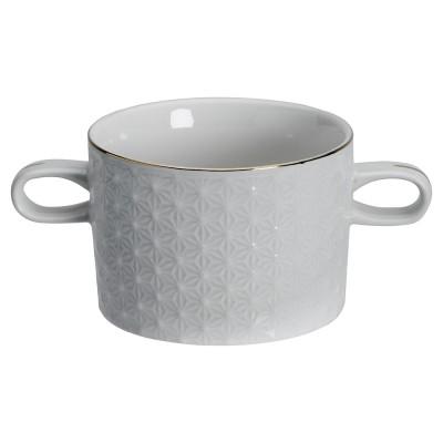 Suppentasse - Japan weiß