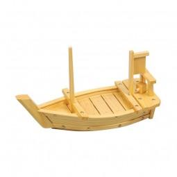 Sushi-Boot aus Holz