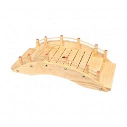 Sushi-Brücke aus Holz